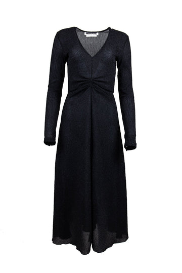Rent ROTATE Birger Christensen Black Fitted Long Sleeve Dress from Rotaro