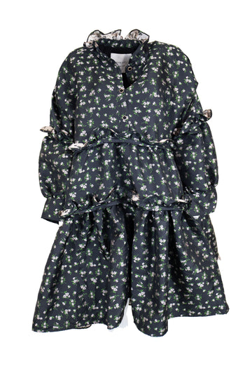 Rent Dream Sister Jane Prairie Oversize Floral Midi Dress from Rotaro