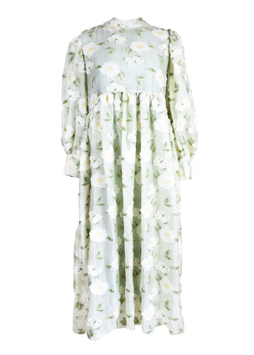 Rent Dream Sister Jane Flower Embellished Maxi Dress from Rotaro