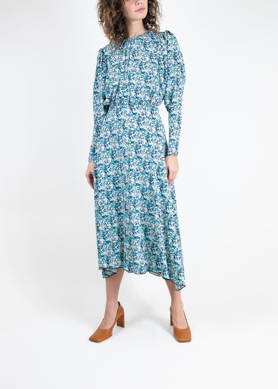 Rent ROTATE Birger Christensen Floral Open Back Dress from Rotaro