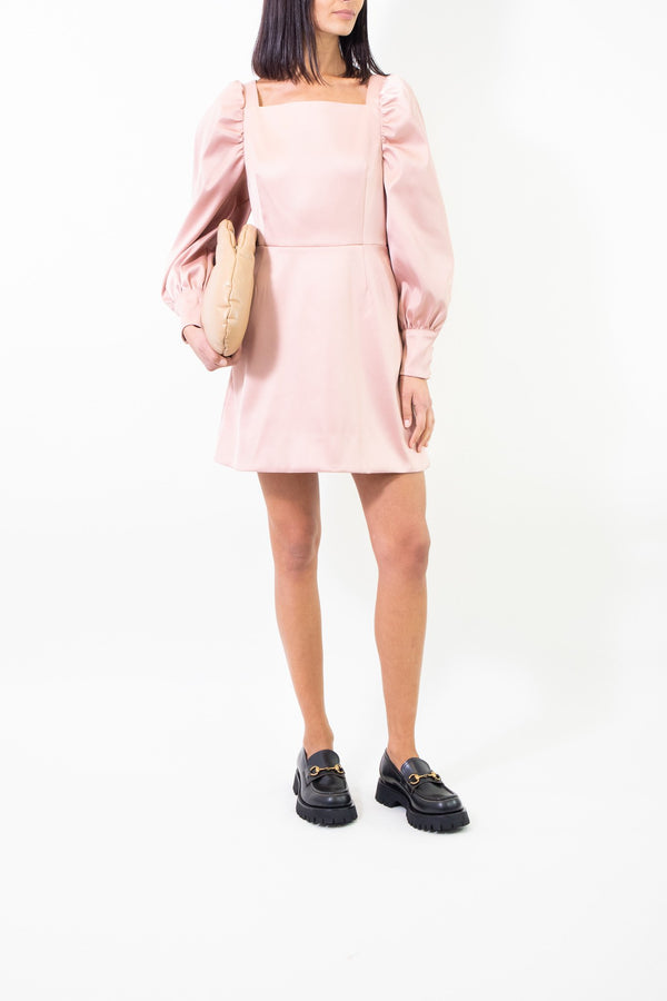 Rent Baum Und Pferdgarten Pink Satin Mini Dress from Rotaro