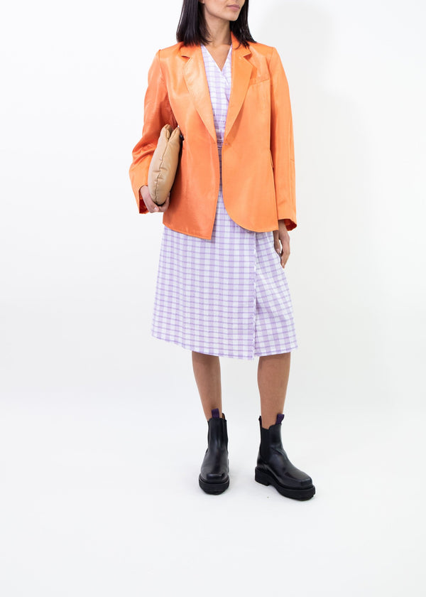 Rent Baum Und Pferdgarten Becks Orange Single Button Blazer from Rotaro