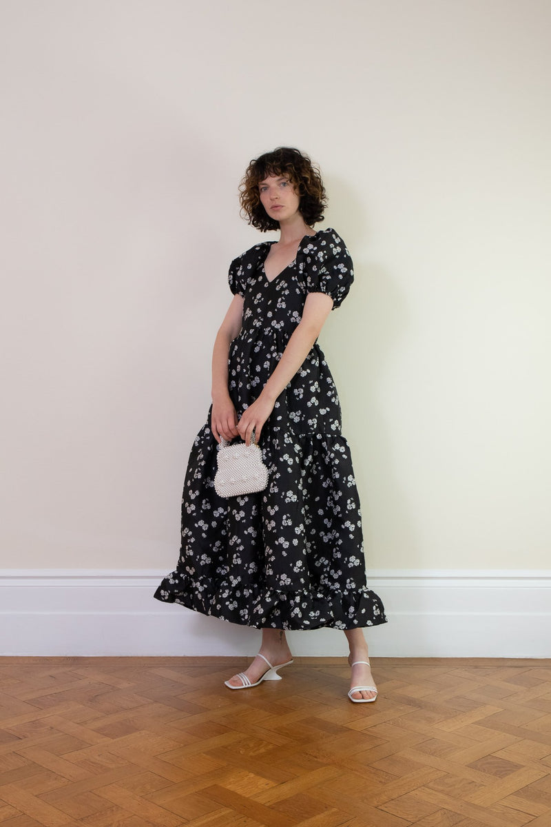 Rent Sister Jane Floral Tiered Maxi Dress from Rotaro