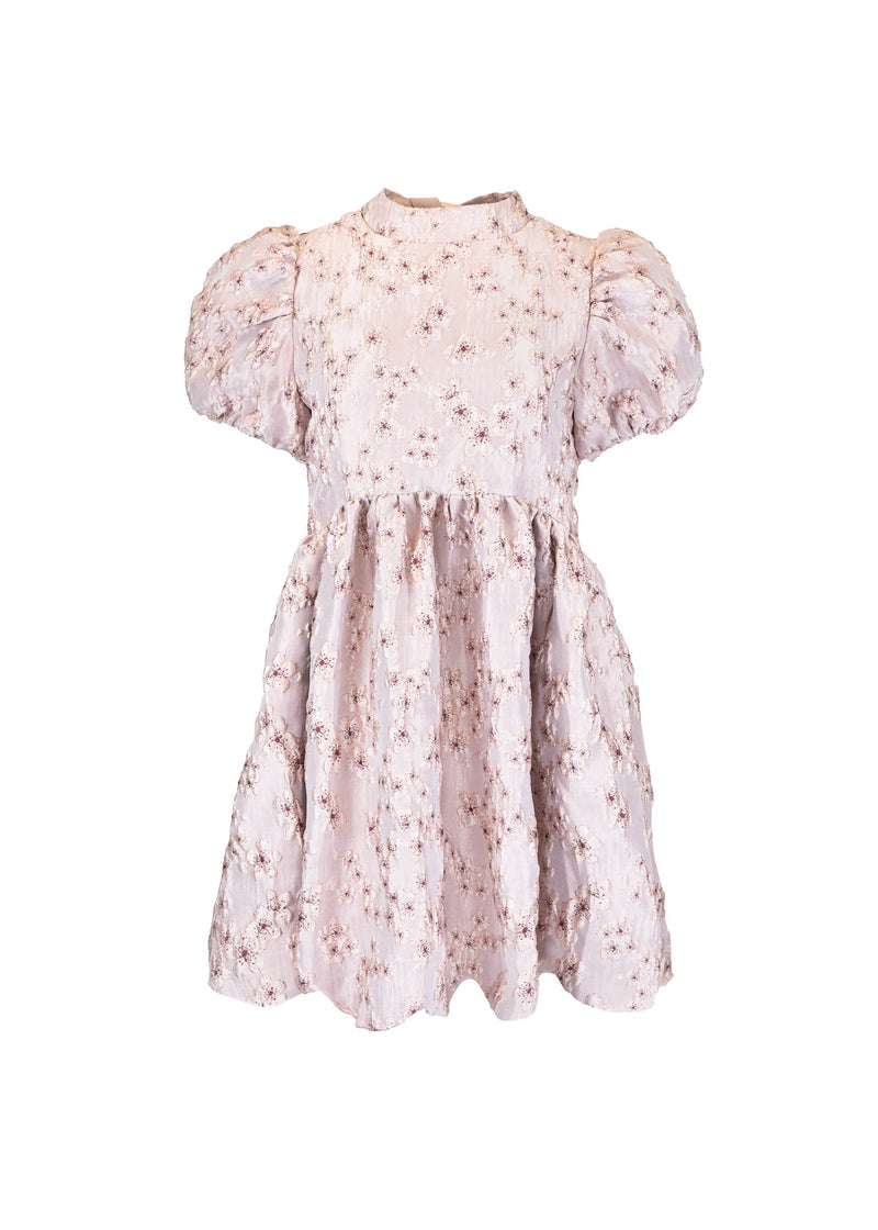 Rent Sister Jane Pink Floral Jacquard Mini Dress from Rotaro