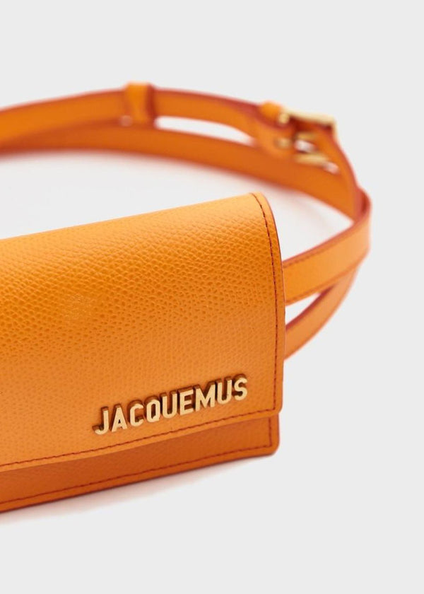 Rent Jacquemus Le Ceinture Bello Orange Belt Bag from Rotaro