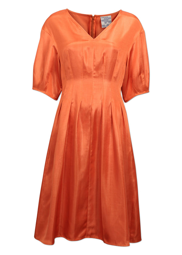 Rent Baum Und Pferdgarten Orange Alaya Midi Dress from Rotaro