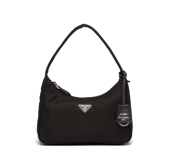 Rent Prada Bags Black Nylon Mini Bag from Rotaro