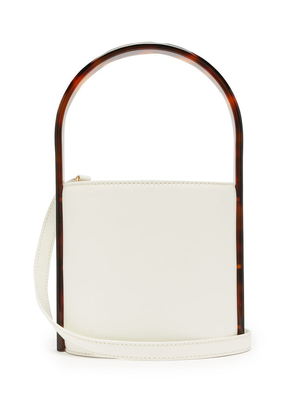Rent Staud Bisset Acetate and Leather Bucket Bag from Rotaro