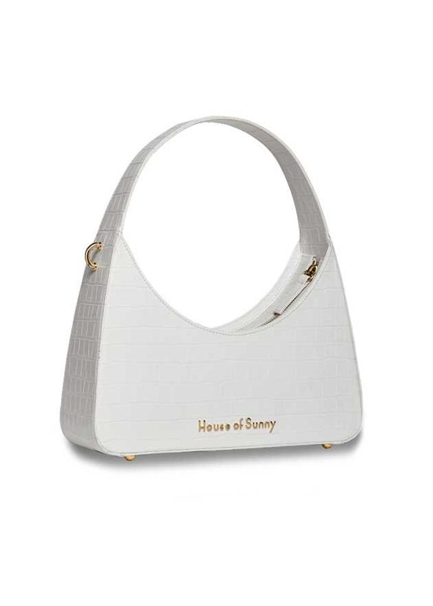 Rent House of Sunny White Icon Shoulder Bag from Rotaro