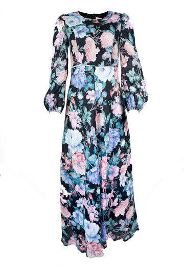 Rent Zimmermann Linen Floral Maxi Dress from Rotaro