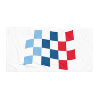 Motorsport Racing Flag Towel