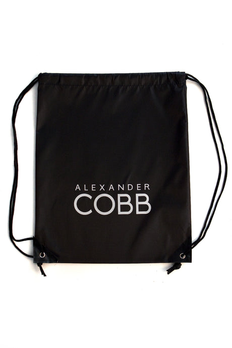 Alexander COBB - Drawstring Backpack Black