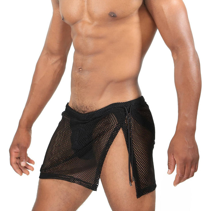 TOF Paris Ibiza Jockstrap Skirt - Black