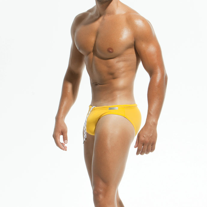 Modus Vivendi Classic Swim Brief - Yellow