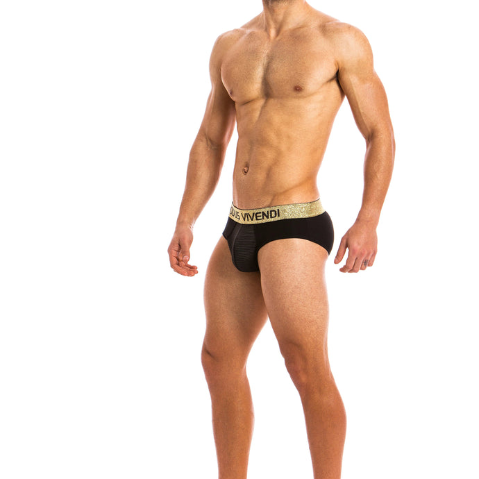 Modus Vivendi Festive Brief - Black