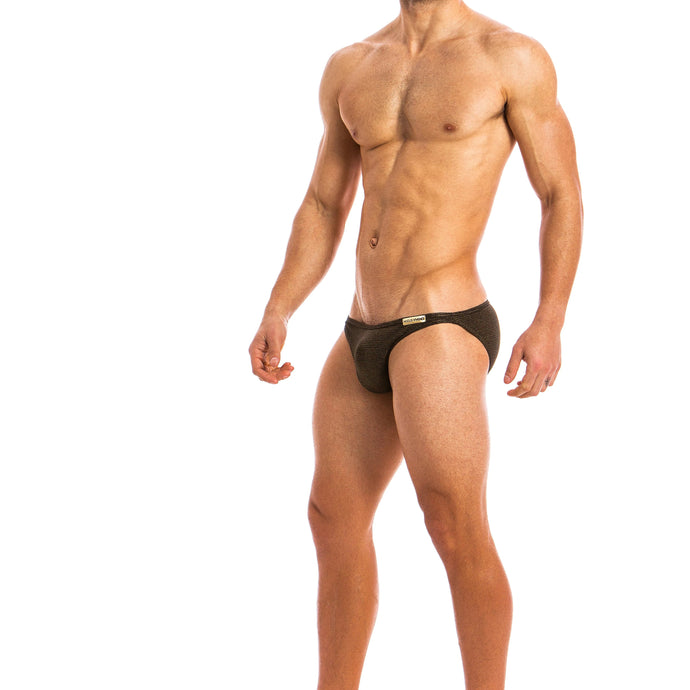Modus Vivendi Festive Low Cut Brief - Gold