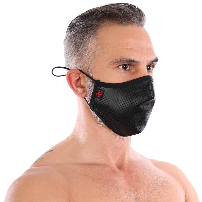 TOF Paris Fetish Seamless Face Mask - Black