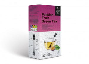 passion fruit-green elixir tea