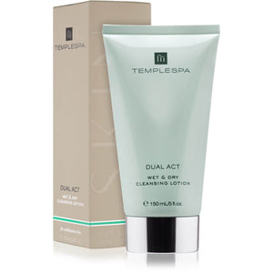 Dual Act Wet & Dry Cleansing Lotion for Combination Skin 150ml
