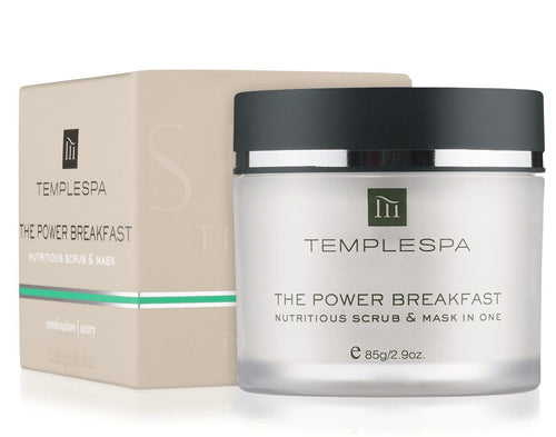The Power Breakfast Deep Cleansing & Resurfacing Face Scrub & Mask 85g