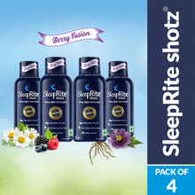 Load image into Gallery viewer, SleepRite Shotz Berry Fusion (Pack of 4)