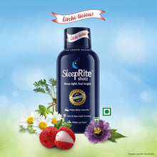 Load image into Gallery viewer, SleepRite Shotz Litchi-licious (60 ml Bottle) for Restful & Calm Sleep