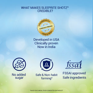 SleepRite Shotz Berry Fusion (Pack of 6) for Calm & Restful Sleep