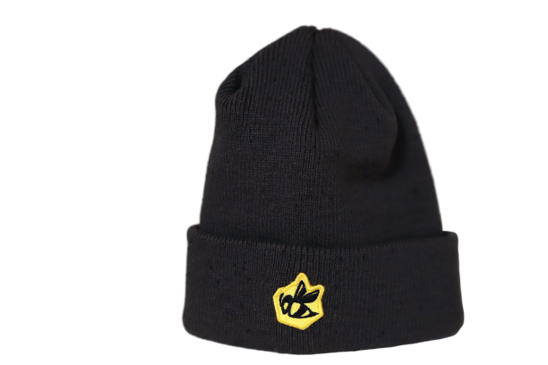 Bee Patch New Era Beanie - Grey