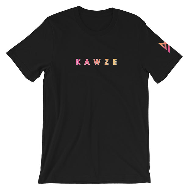 1m-clothes - Retro T-shirt By Kawze {Black} - t-shirt
