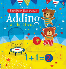 Adding at the Circus, BocoLearning.com, Boco Math, Math Learning, Picture Book