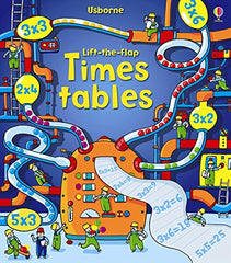 Lift the Flap Times Tables, Boco Learning, Boco Math, Math Learning, Picture Book