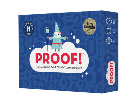 Proof, Math Game, Boco Math Lifestyle, Learning Math the Fun Way