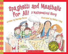 Spaghetti and Meatballs For All! Boco Learning, Boco Math, Math Learning, Picture Book