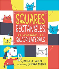 Squares, Rectangles, and Other Quadrilaterals, BocoLearning.com, Boco Math, Math Learning, Picture Book