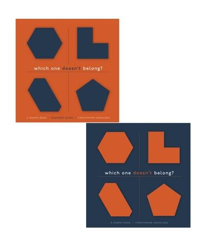 Which One Doesn't Belong?: A Shapes Book, Teacher's Guide with Student Book