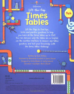 Lift the Flap Times Tables Book (Usborne Lift-the-Flap-Books)
