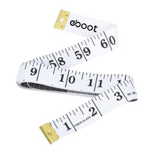 Load image into Gallery viewer, eBoot Soft Tape Measure for Sewing Tailor Cloth Ruler (White)