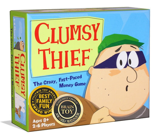 Melon Rind Clumsy Thief Money Game - Adding to 100 Math Card Game for Kids (Ages 8 and up)