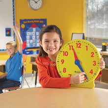Load image into Gallery viewer, Learning Resources Big Time Learning Clock, 12 Hour, Basic Math Development, Ages 5+