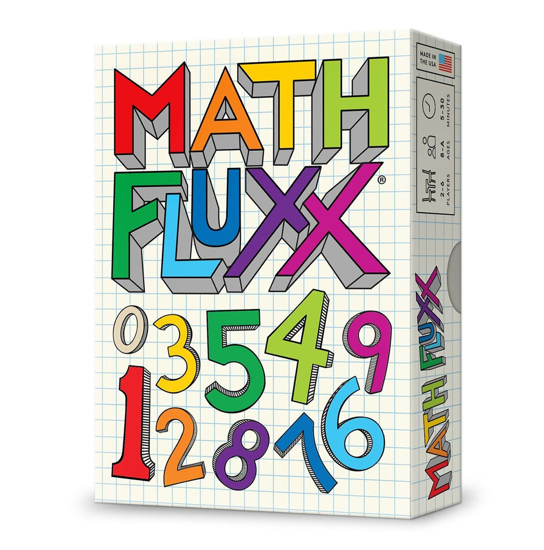 Looney Labs Fluxx Math Fluxx Card Game