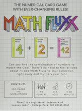 Load image into Gallery viewer, Looney Labs Fluxx Math Fluxx Card Game