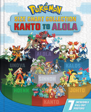 Load image into Gallery viewer, Pokémon Size Chart Collection: Kanto to Alola