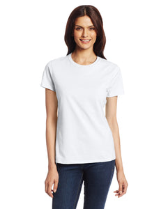 Hanes Women's Nano T-Shirt, Small, White