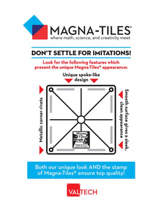 Magna-Tiles 8-Piece Polygons Expansion Set – The Original, Award-Winning Magnetic Building Tiles – Creativity and Educational – STEM Approved