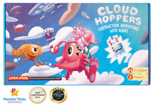 Load image into Gallery viewer, CLOUD HOPPER Addition Subtraction STEM game - Alien chase adventure - Fun learning toy for ages 6 and up - Aligned to Singapore math - With 10 faced math dice