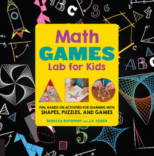 Load image into Gallery viewer, Math Games Lab for Kids: 24 Fun, Hands-On Activities for Learning with Shapes, Puzzles, and Games