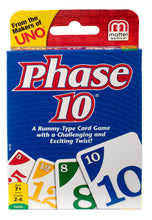 Load image into Gallery viewer, Phase 10 Card Game Styles May Vary