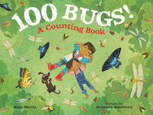 Load image into Gallery viewer, 100 Bugs!: A Counting Book
