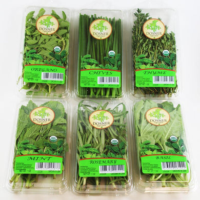 Organic Herb Lover  6-PACK - Dosner Organics Farms