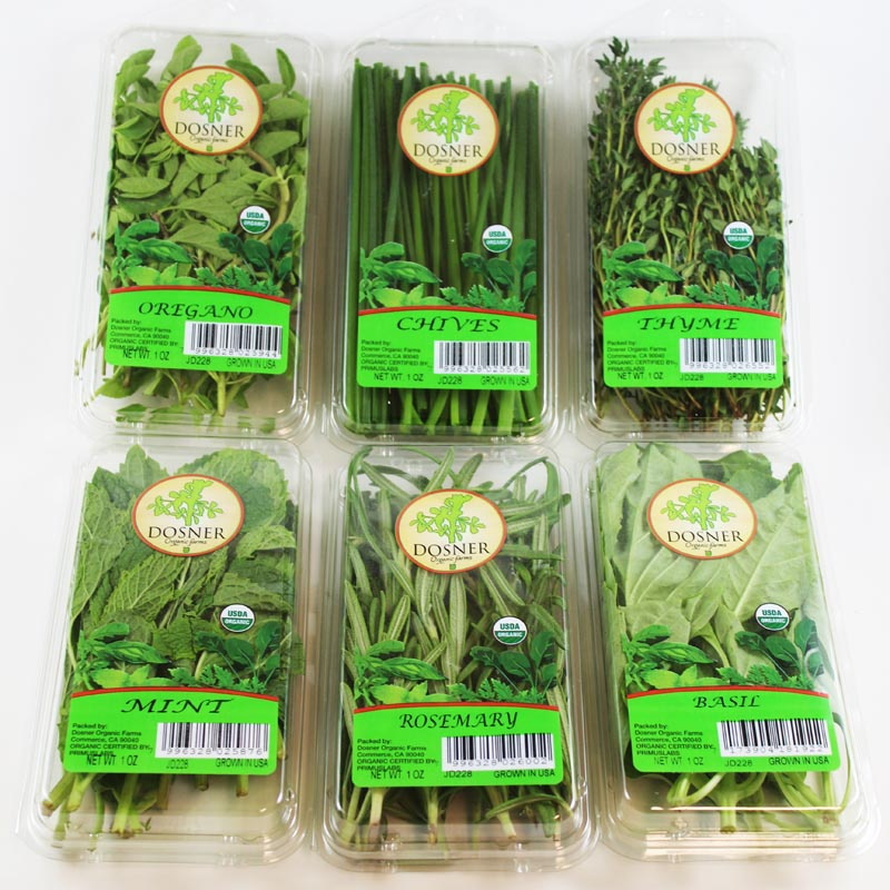 Organic Herb Lover  6-PACK - Dosner Organic Farms